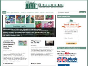 Brookside Museum Website